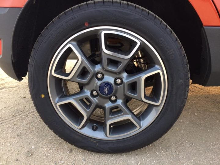 2017 ford ecosport update new alloys