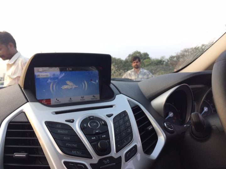 2017 ford ecosport update new touchscreen infotainment