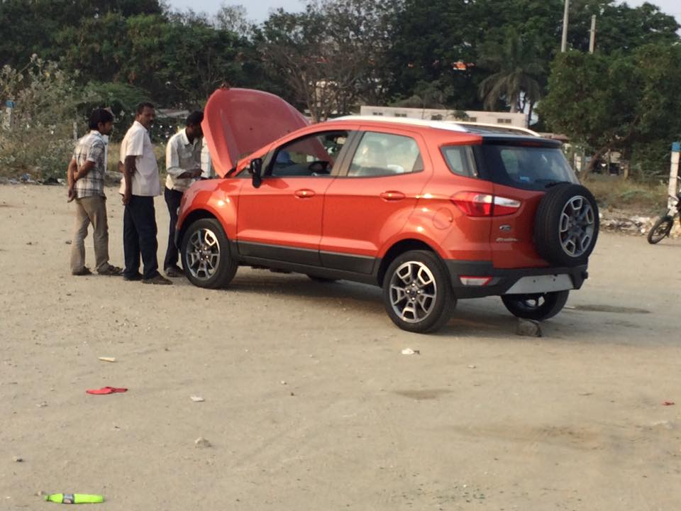 2017 ford ecosport update new