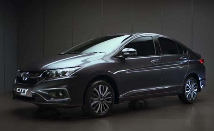2017 honda city official image front angle