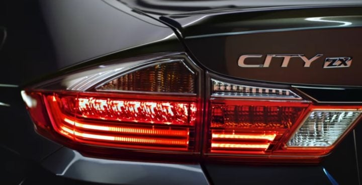 2017 honda city review - official image led tail lamps