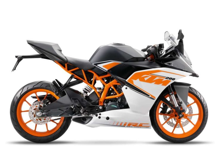 Best Bikes in India - KTM RC 200