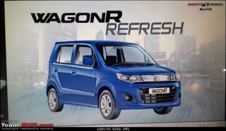 new 2017 maruti wagon r refresh