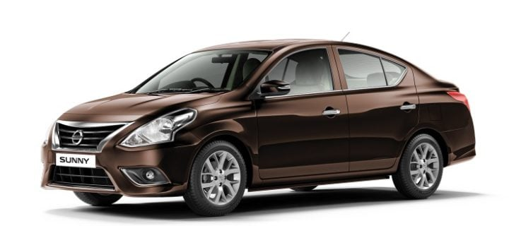 2017 nissan sunny new colour sandstone brown
