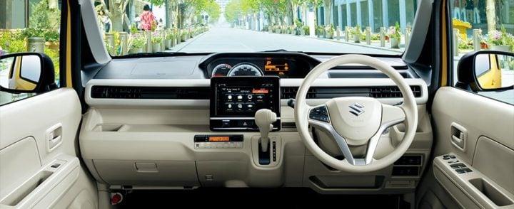2017 suzuki wagon r interiors