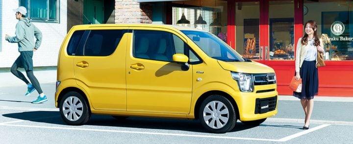 2017 suzuki wagon r yellow