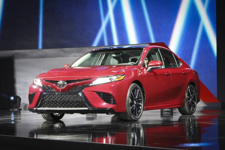 2018 Toyota Camry Unveiled