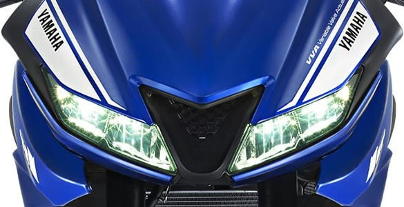 2017 yamaha r15 v3 led headlamp