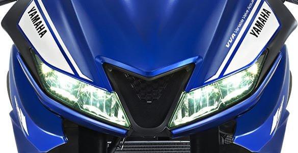 2017 yamaha r15 v3 led headlamp