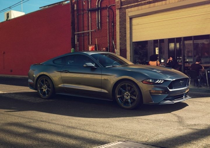2018 ford mustang official image
