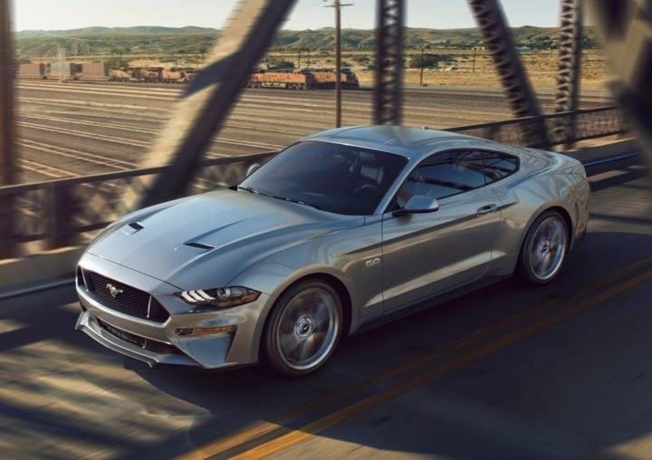 ford cars at auto expo 2018 2018 ford mustang official image