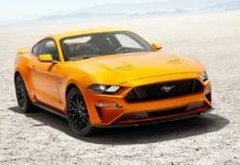 2018 ford-mustang official image front angle