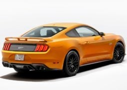 2018 ford-mustang official image rear angle