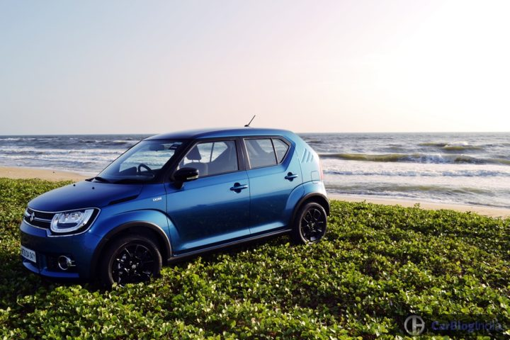 best mileage cars in india maruti ignis test drive review images
