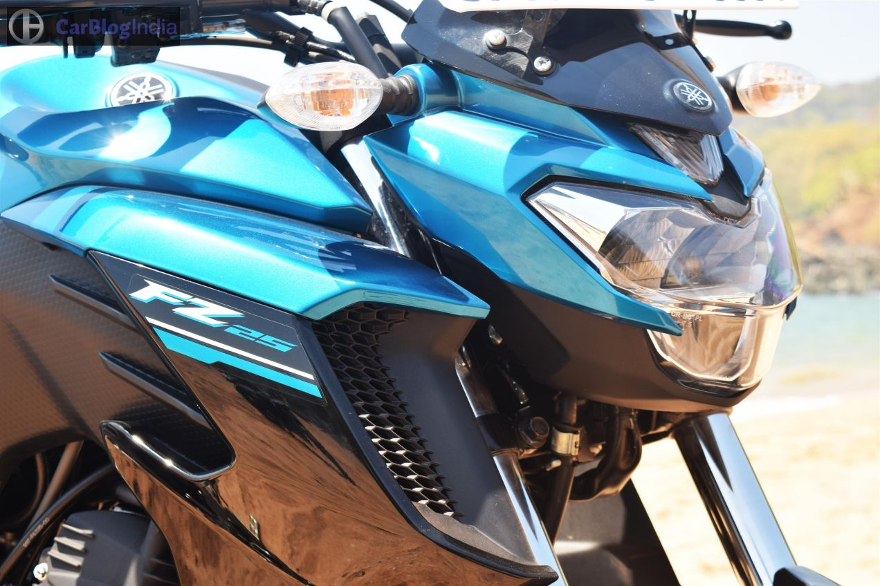 Yamaha fz25 check prices specs mileage top speed