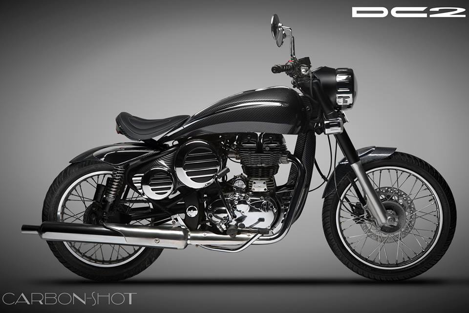 Modified Royal Enfield Classic by DC Design Price Rs  76000