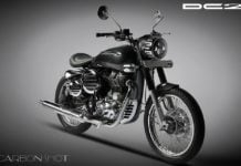 Modified Royal Enfield Classic by DC Design front angle