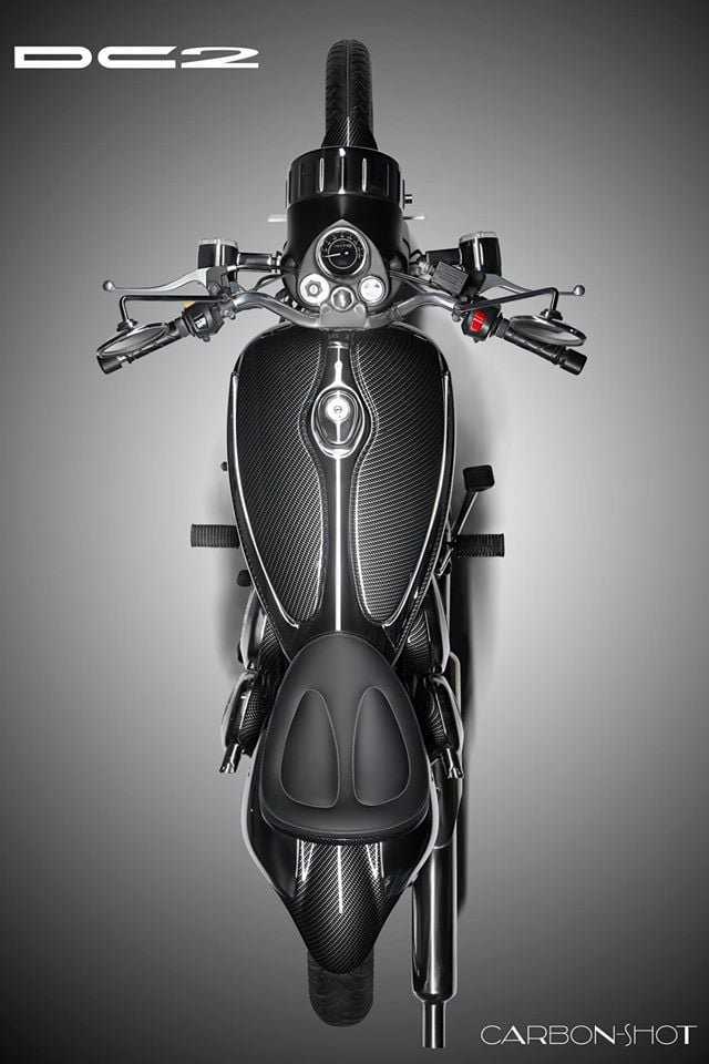 Modified Royal Enfield Classic by DC Design top