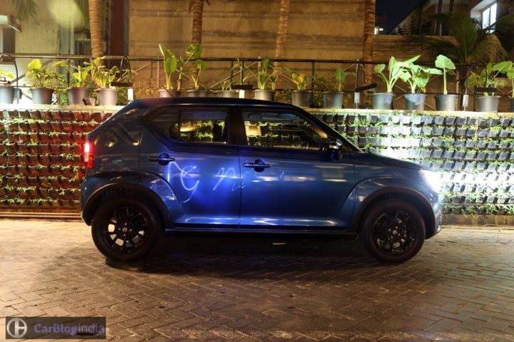 maruti ignis test drive review images