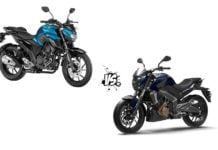 Yamaha FZ25 vs Bajaj Dominar 400