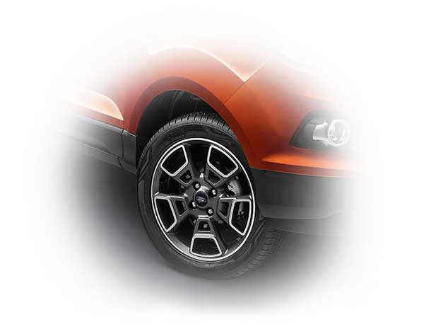 ford ecosport platinum edition alloys