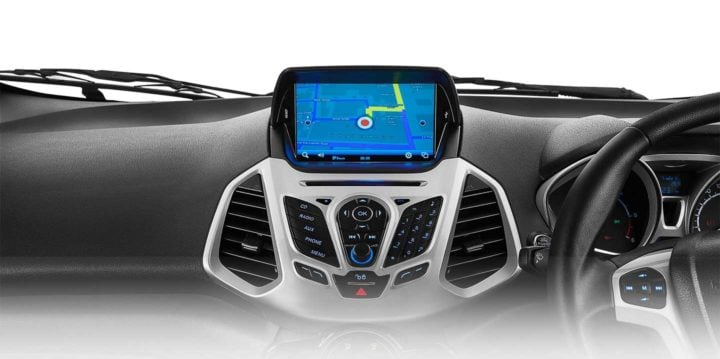 ford ecosport platinum edition touchscreen