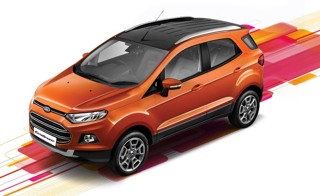 Ford EcoSport Platinum Edition Price Rs 1039 Lakh Features Specs