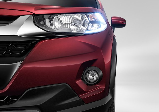 honda wrv india images headlight