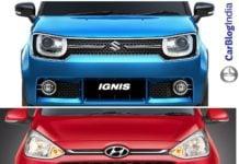 maruti IGNIS vs hyundai grand i10