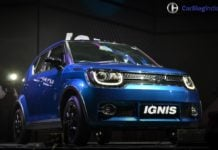 maruti suzuki ignis test drive review images