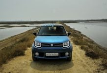 maruti ignis test drive review images front