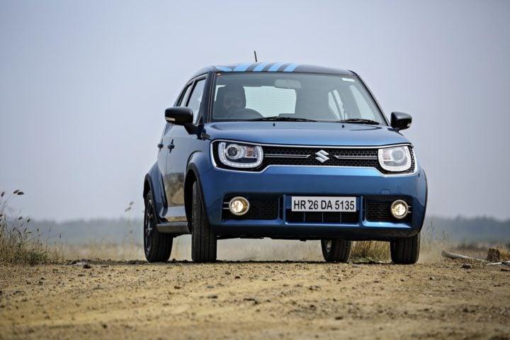 Best Mileage Automatic Cars - Maruti Ignis Diesel AMT