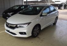 new 2017 honda city facelift images front angle