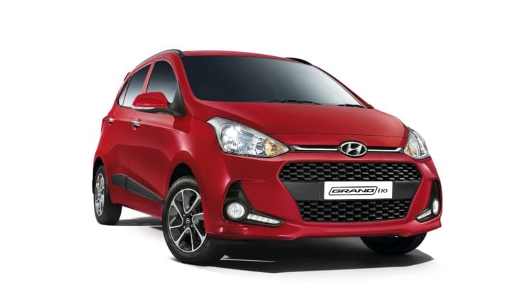 best mileage cars in india new 2017 hyundai grand 10 front angle