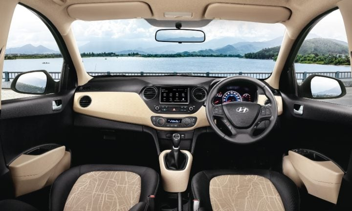 new 2017 hyundai grand i10 interiors