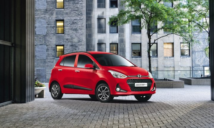 new 2017 hyundai grand i10 front angle