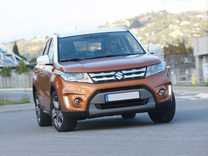 new maruti grand vitara india front image