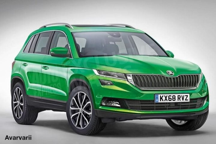 New Upcoming SUV Cars in India 2017 - new skoda yeti 2017 images front angle