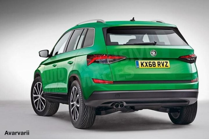 new skoda yeti 2017 images rear angle
