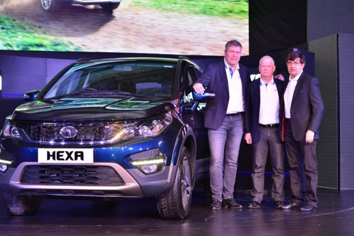 tata hexa official launch imageq