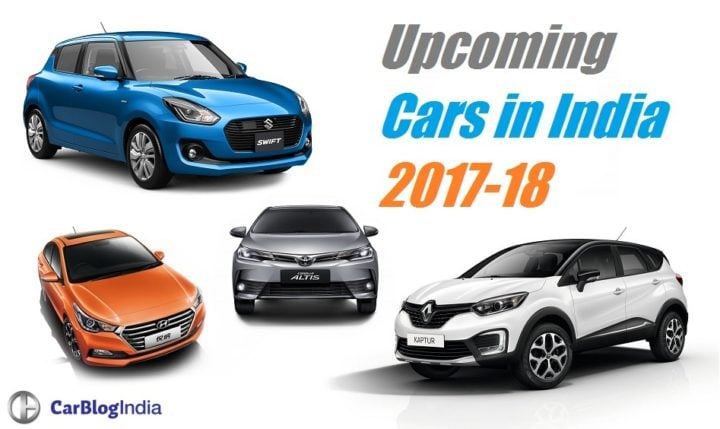 upcoming new cars in india 2017