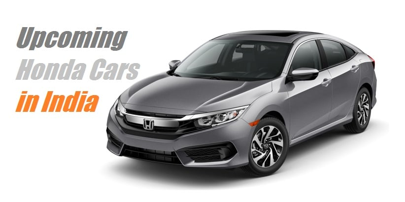 upcoming new honda cars in india