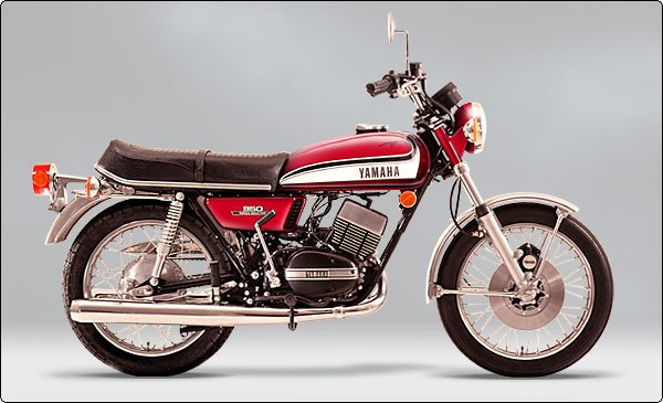 yamaha rd350 relaunch images