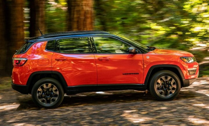 jeep cars at auto expo 2018 Jeep Compass Trailhawk