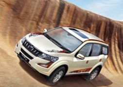 2017 Mahindra XUV500 Sportz Limited Edition Official Image