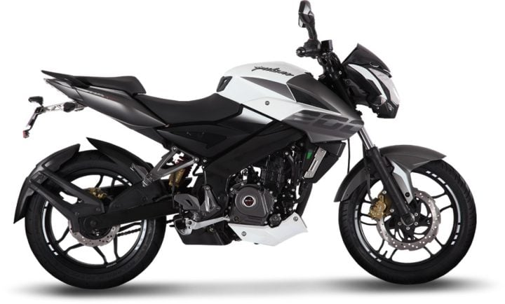 2017 bajaj pulsar ns200 abs white