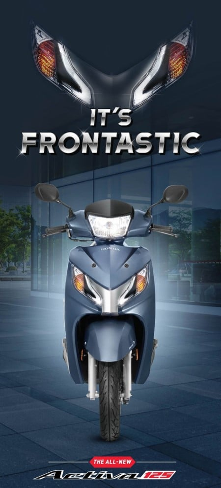 new 2017 honda activa 125 front