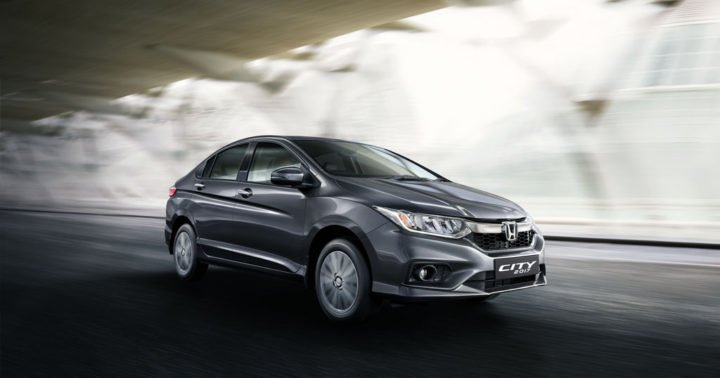 2017 honda city action front