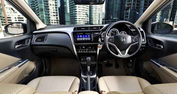 2017 honda city interiors dashboard