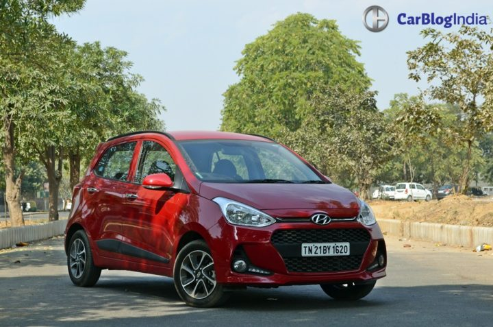 best cars under 5 lakhs - 2017 hyundai grand i10 facelift test drive review